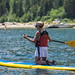 Stand Up Paddleboarding on South Lake Tahoe - Emerald Bay
