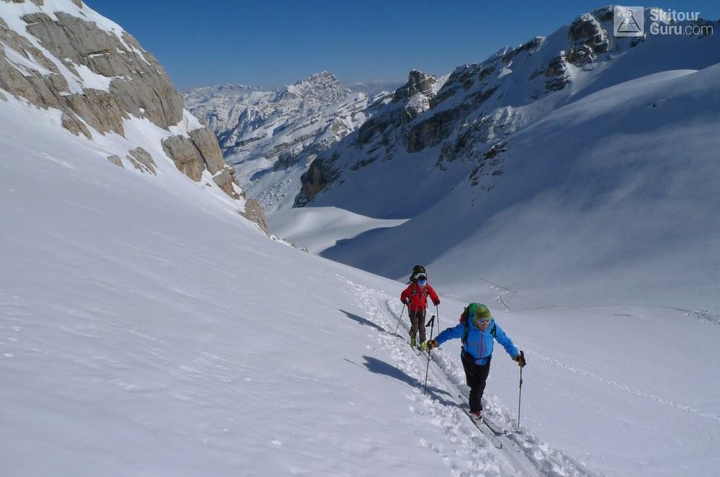 Piz Lavarela 3055 m, Senes-Fanes-Prags, Dolomiti, Lavarela Hütte, Rifugio Fanes, http://skitourguru.com/tura/18-piz-lavarela-day-3-h-r-dolomiti-sudtirol