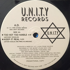 A.D.:N.Y.C.(LABEL SIDE-B)