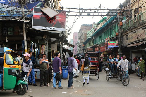 Chandni Chowk. Delhi, India