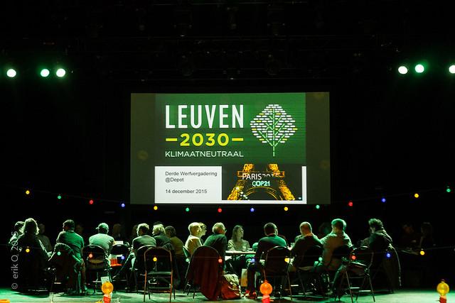 Leuven klimaatneutraal 2030 - 3de Werfvergadering