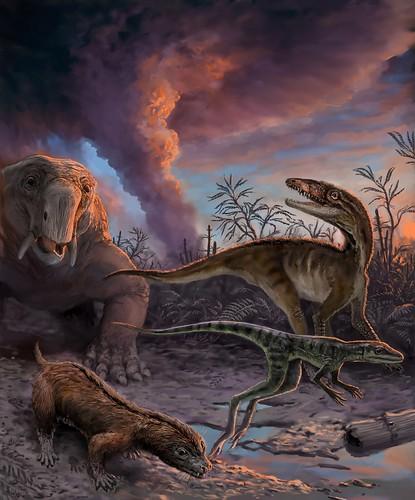 Ancestros de dinosaurios