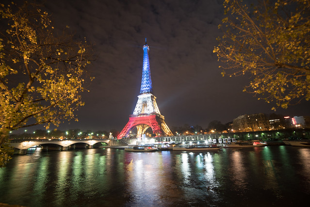 Paris bleu blanc rouge