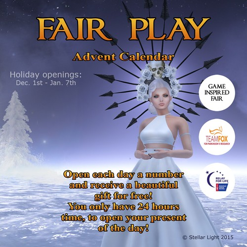 Fair Play Advent Calendar 2015