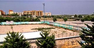 Casamassima-Gli anni bui del calcio Casamassimese-campo sportivo