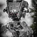 AT-ST Stands Guard by Lego_LUTs