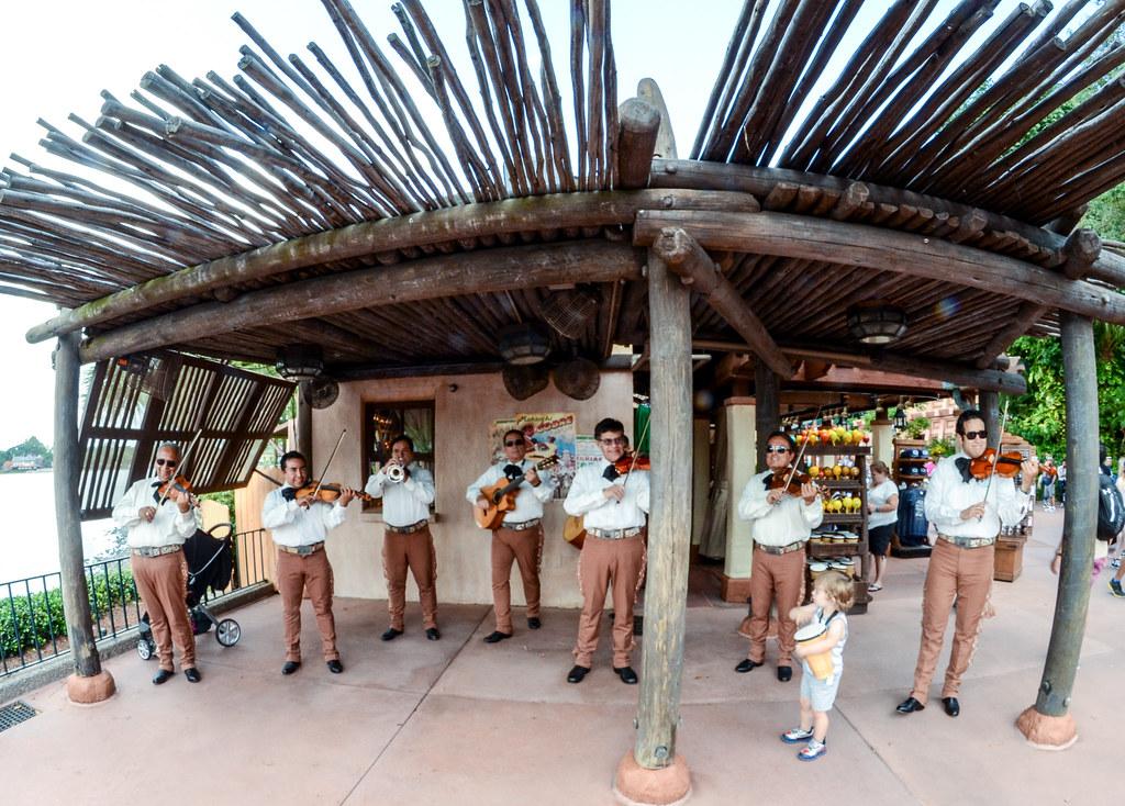 Mariachi band Epcot