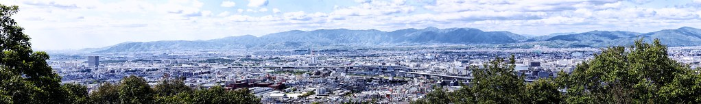 Panoramic View of Kyoto
