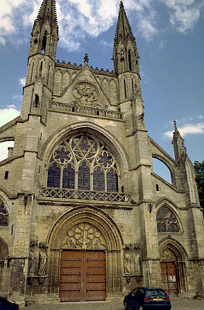 church of St Martin, Laon, France