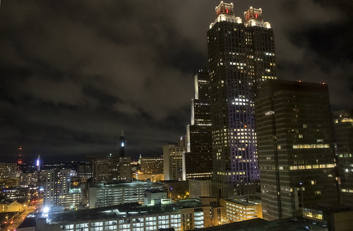 Night View of Atlanta