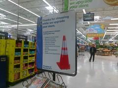 Walmart Bartlett (remodel underway)