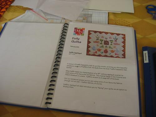 Kaffe Fassett Dolly Quilt