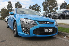 race car, automobile, automotive exterior, wheel, vehicle, ford fg falcon, full-size car, ford motor company, compact car, bumper, ford, ford falcon (australian version), land vehicle,