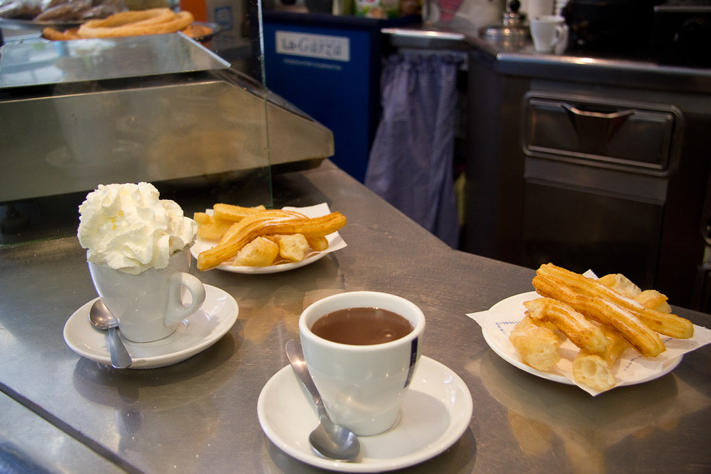 Hot chocolate in Spain
