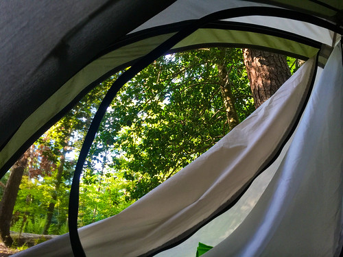 park morning camping view state westmoreland