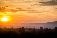 Sunrise in Redding, California