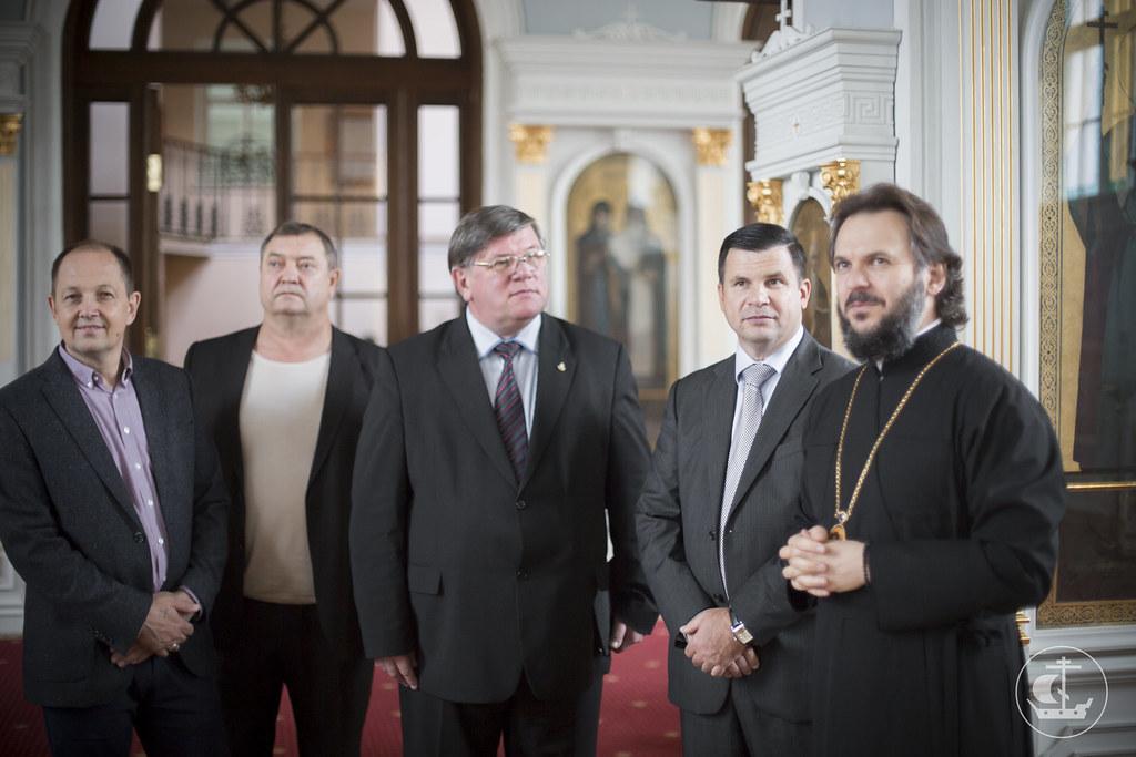 18 сентября 2015, Делегация Евангельских христиан-баптистов в СПбДА / 18 September 2015, The delegation of Evangelical Christians-Baptists in SPbTA