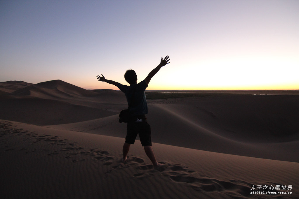絲路-敦煌鳴沙山月牙泉-沙漠露營15