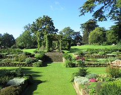 Sunken Garden in West Dean Gardens 1