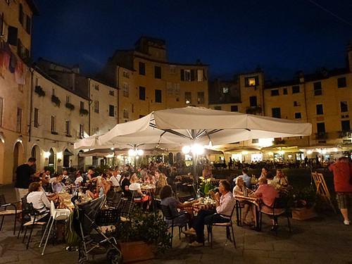 dernière soirée à Lucca