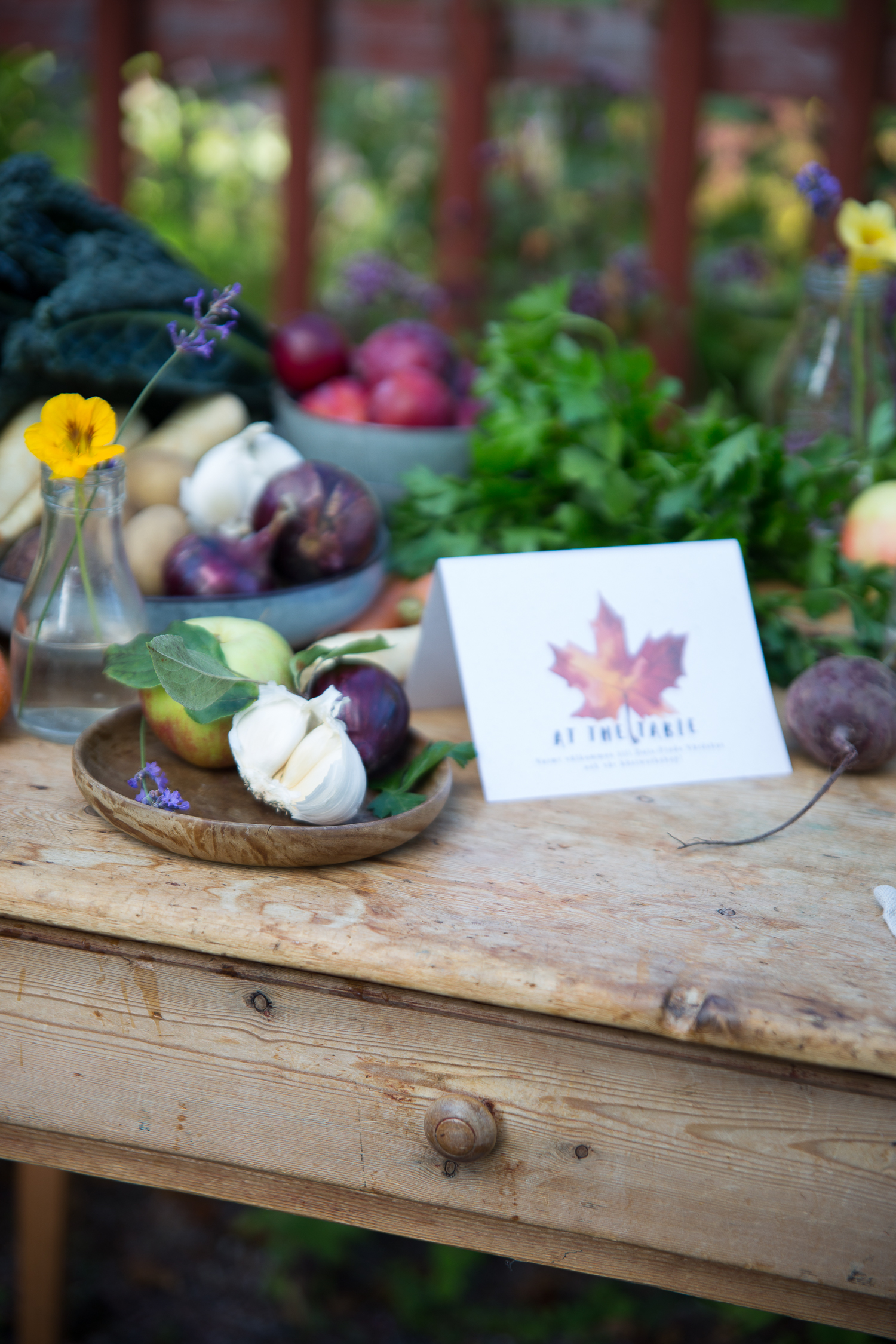 At the table, workshop in Dala-Floda, Sweden   Cashew Kitchen