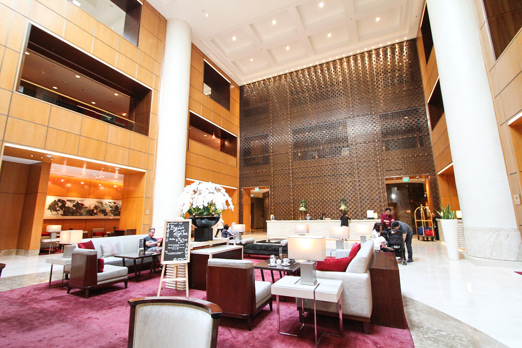 Singapore Marriott Tang Plaza Hotel Lobby