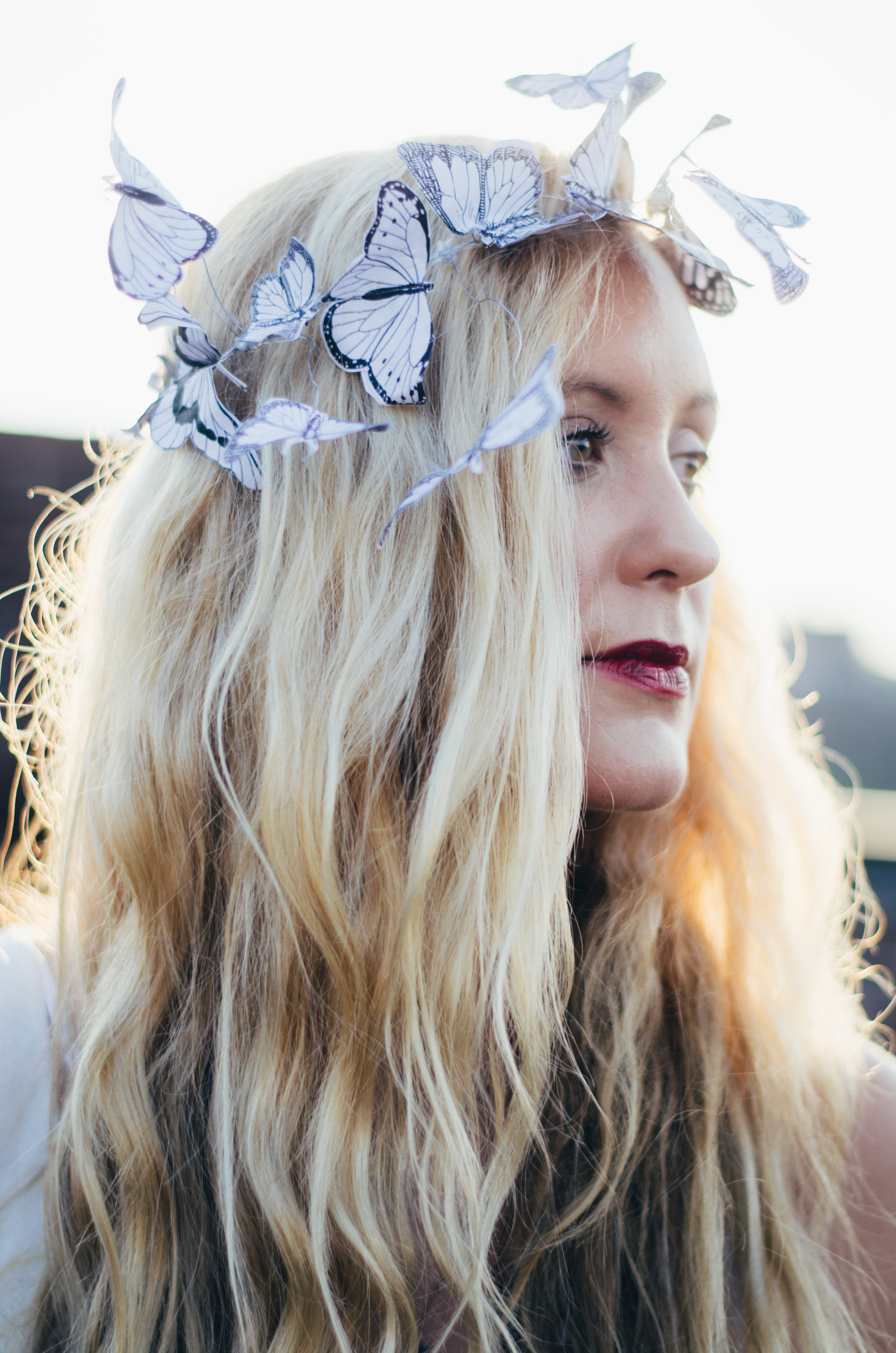 DIY Butterfly Crown on juliettelaura.blogspot.com