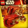 #Lego #StarWars Rey's Speeder