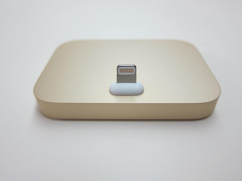 Apple iPhone Lightning Dock (Gold) - Front