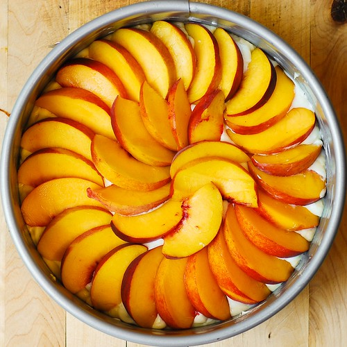 Peach Cream Cheese Cake
