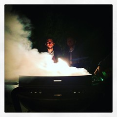 Mefisto il salumaio... #trentenni #fumo #nientearrosto #igerspiceni #brace #fornacella
