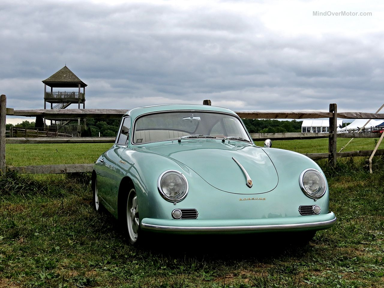 Radnor Hunt Porsche 356 Green