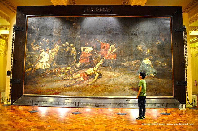 Spoliarium by Juan Luna at National Museum of the Philippines