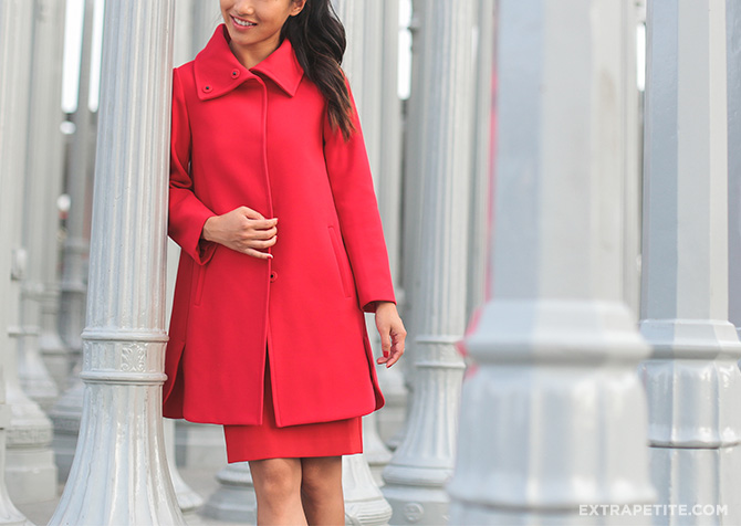 ann taylor red coat LA urban light-5 small