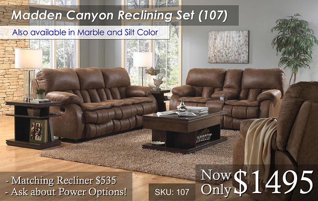 Madden Reclining Living Set