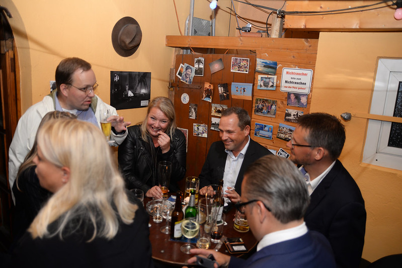 Filmfest-Party im Marvins