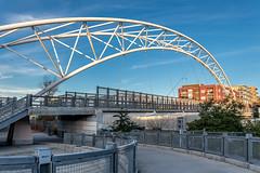 Pedestrian Bridge over I-25, Denver