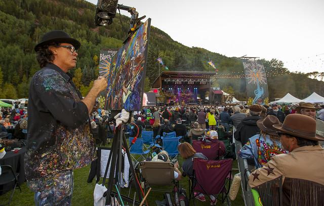 Scramble Campbell - 2015 Telluride Blues & Brews Festival