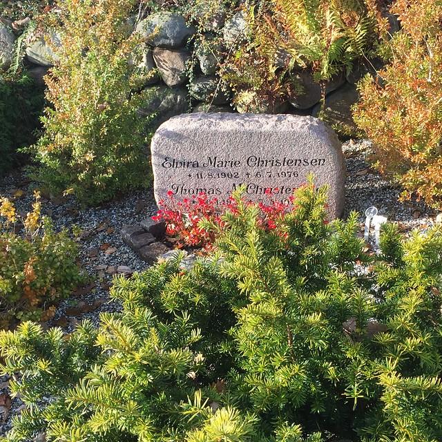 Family gravesite