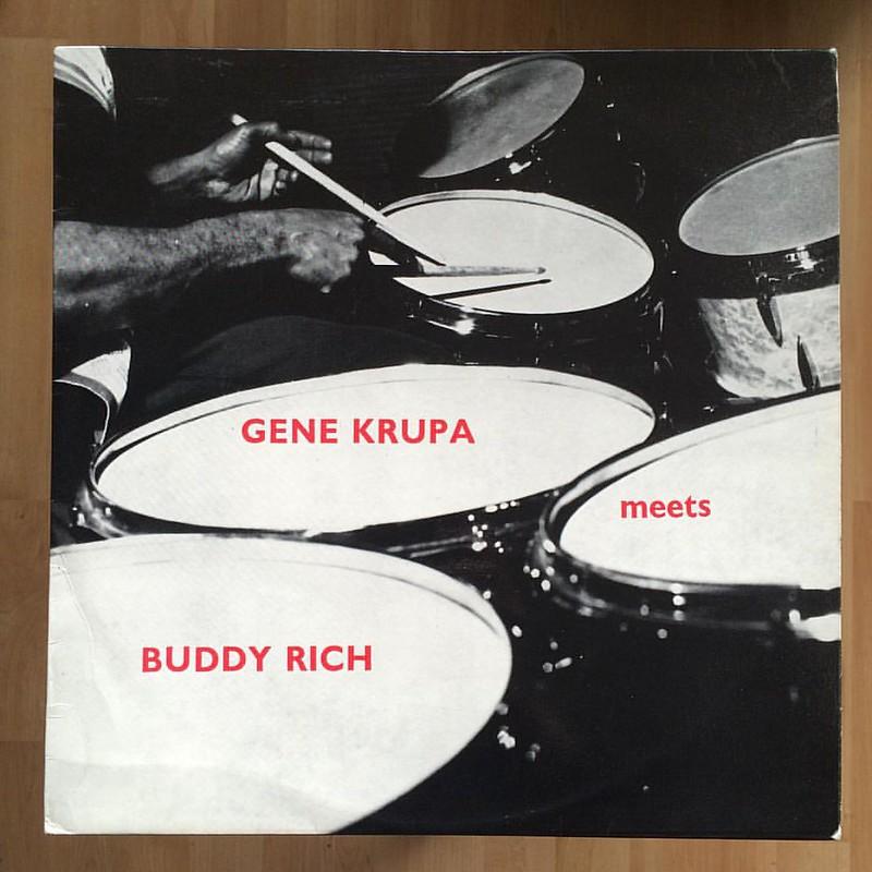 Gene Krupa meets Buddy Rich