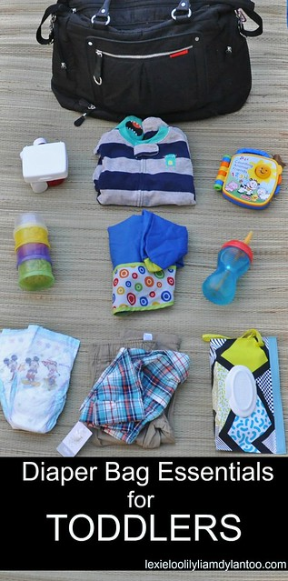 Diaper Bag Essentials for Toddlers