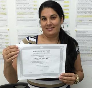 Yuliesky Garcia (Review) Califica a Municipal Credit Service Corp
