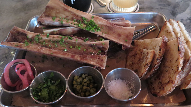 Bone marrow appetizer