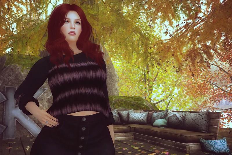Autumn gaze