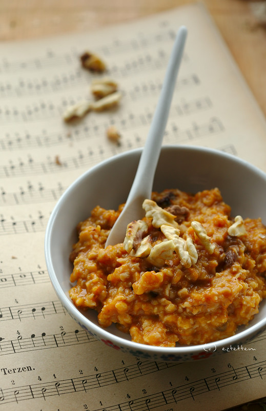 butternut squash porridge