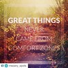 Great things never came from comfort zones.  #quotes #Repost @mezany_spots w/  @repostapp ・ Just travel   #mezanyspots #travel #instatravel #travelquotes #wanderlust #follow #instafollow #instadaily #comfort #zone #motivation #inspiration