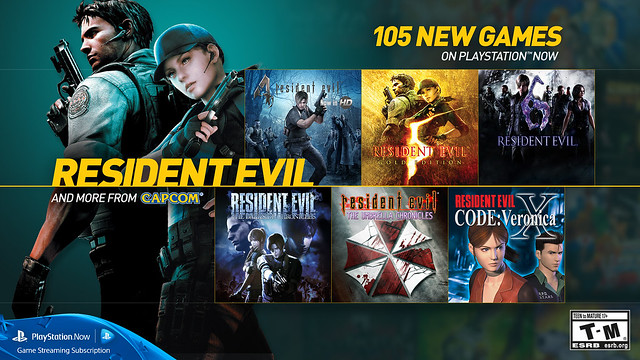 PS Now - Resident Evil
