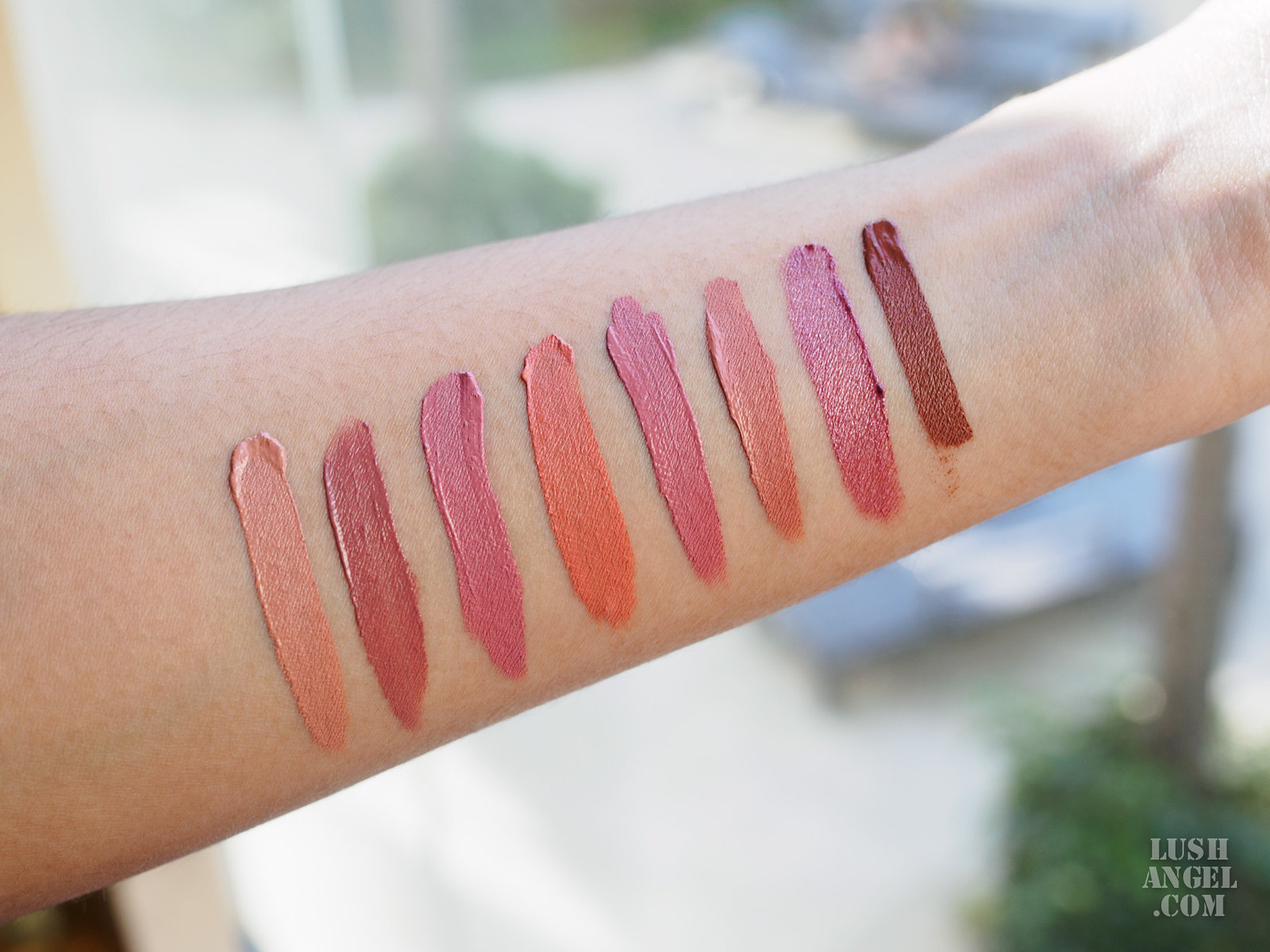 ofra-liquid-lipstick-nudes-swatches