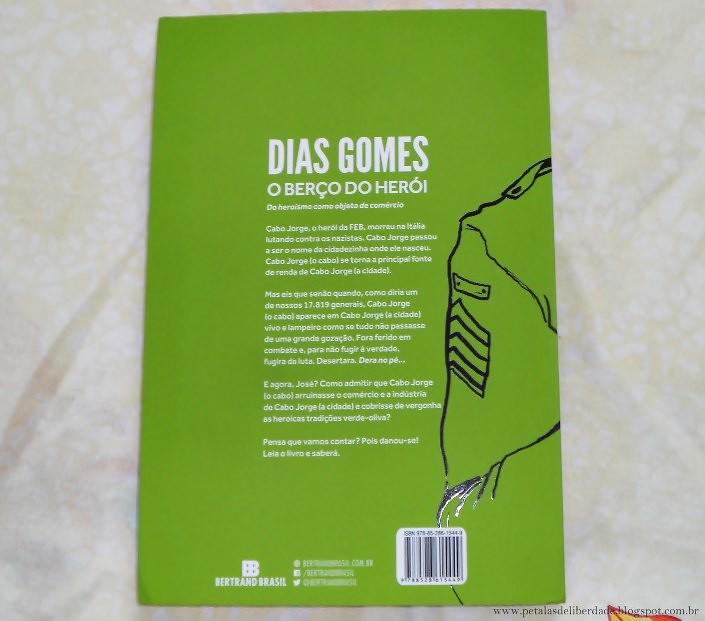 Resenha, livro, O Berço do Herói, Dias Gomes, Roque Santeiro, nova-edição, bertrand, teatro, trechos, contracapa, sinopse