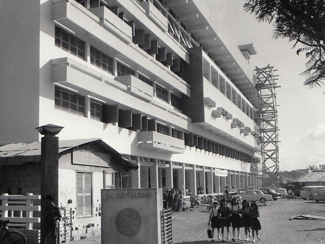 SAIGON 1967 - Van Hanh University - Buddhism - Press Photo